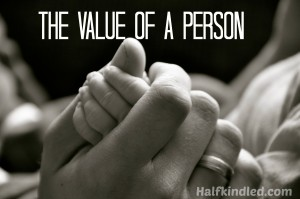 The Value of a Person