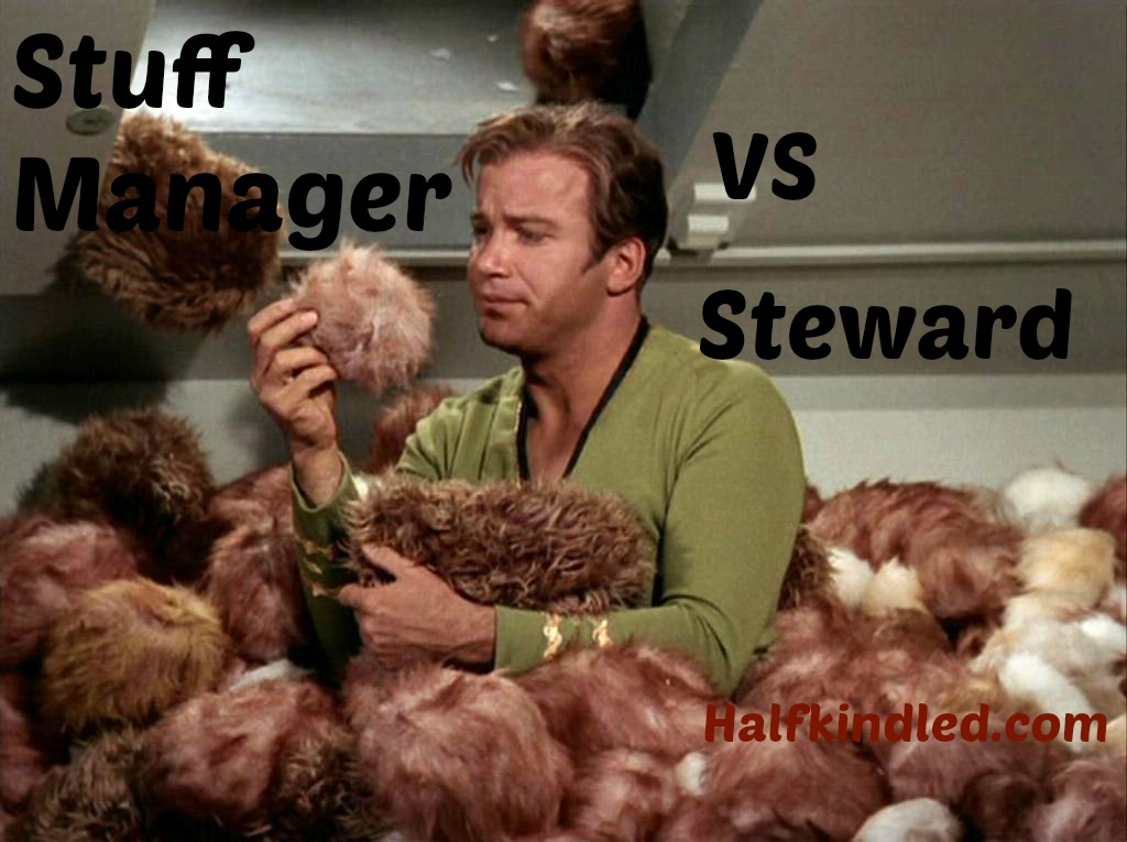 Halfkindled kirk with tribbles