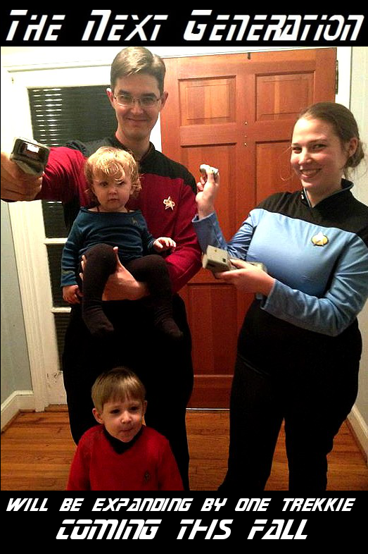 Star Trek Pregnancy Announcement